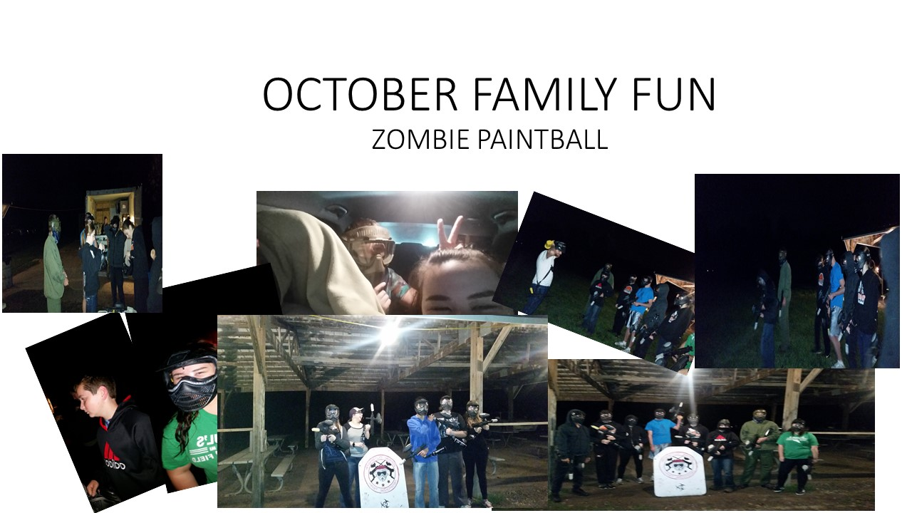 zOMBIE pAINT BALL