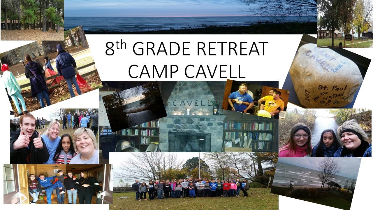 8th GRADE RETREAT