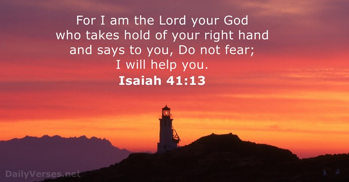 Blog Hold On Daily Versest Isaiah 41 13