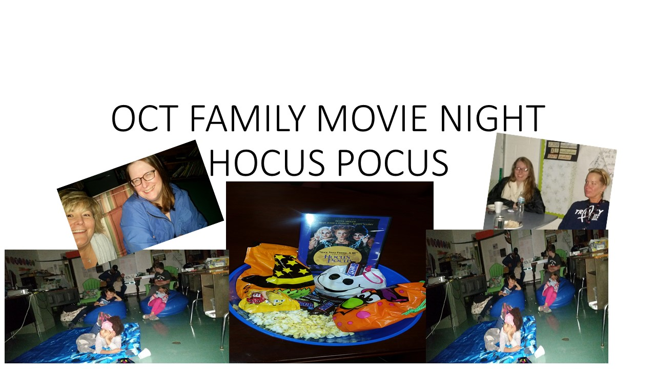 OCT FAMILY MOVIE NIGHT